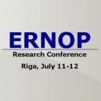 ERNOP Philanthropy Research Conference Riga, July 11-12
